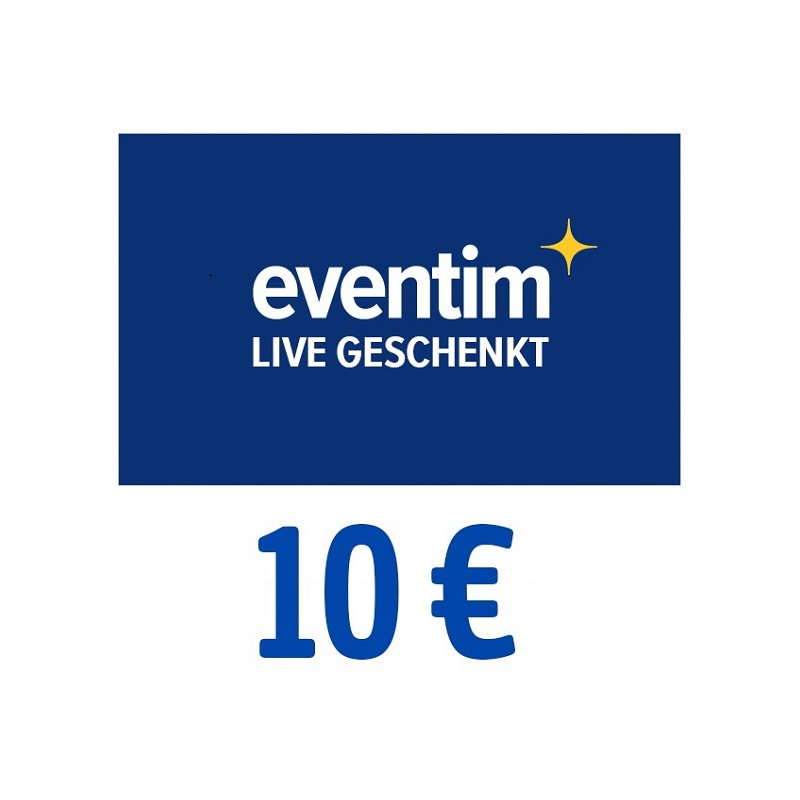 eventim 10 euro egutschein f r 200 p 7 99 portofrei payback. Black Bedroom Furniture Sets. Home Design Ideas