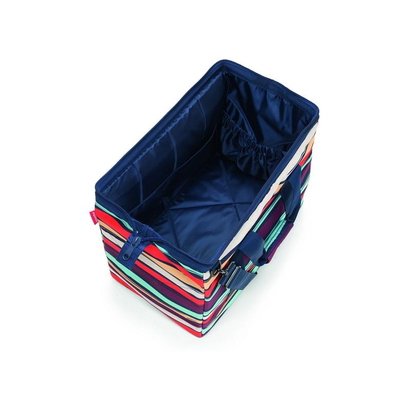 Reisetasche allrounder L Artist Stripes (30 Liter) Reisenthel GfwoPdY